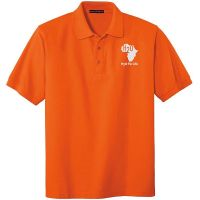 20-TLK500, Tall Large, Orange, Chest, H2O For Life - White.