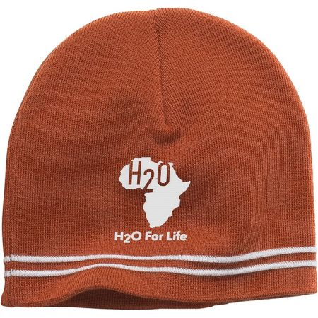 H102, One Size, Texas Orange, H2O For Life - White.